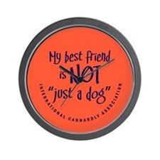 "Not ""just a dog"" Wall Clock"