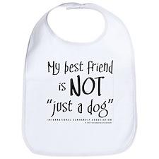 """Not """"just a dog"""" Bib"""