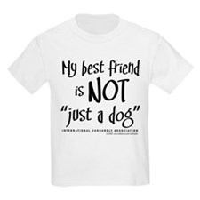 "Not ""just a dog"" Kids T-Shirt"