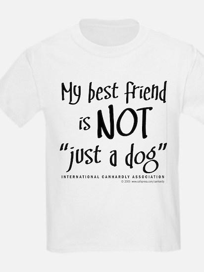 """Not """"just a dog"""" Kids T-Shirt"""