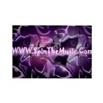 SpinTheMusic.Com Rectangle Magnet (100 pack)