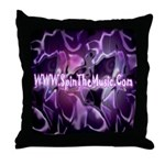 SpinTheMusic.Com Throw Pillow