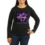 SpinTheMusic.Com Women's Long Sleeve Dark T-Shirt