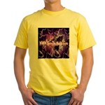 SpinTheMusic.Com Yellow T-Shirt