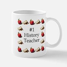 #1 History Teacher Mug