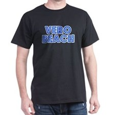 Retro Vero Beach (Blue) T-Shirt