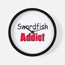 Swordfish Addict Wall Clock