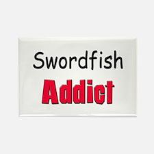 Swordfish Addict Rectangle Magnet
