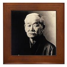 Jigoro Kano (Judo) Framed Tile Print