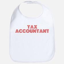 Retro Tax Account.. (Red) Bib