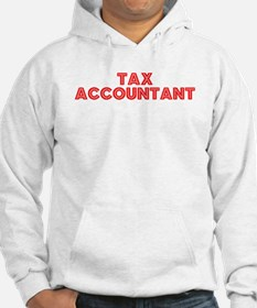 Retro Tax Account.. (Red) Hoodie