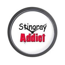 Stingray Addict Wall Clock