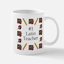#1 Latin Teacher Mug