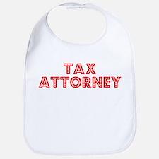 Retro Tax Attorney (Red) Bib
