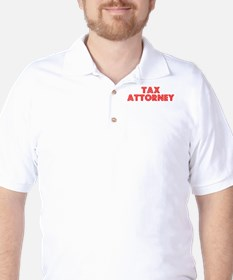 Retro Tax Attorney (Red) T-Shirt