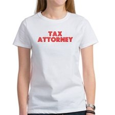 Retro Tax Attorney (Red) Tee