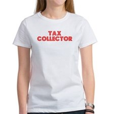 Retro Tax Collector (Red) Tee