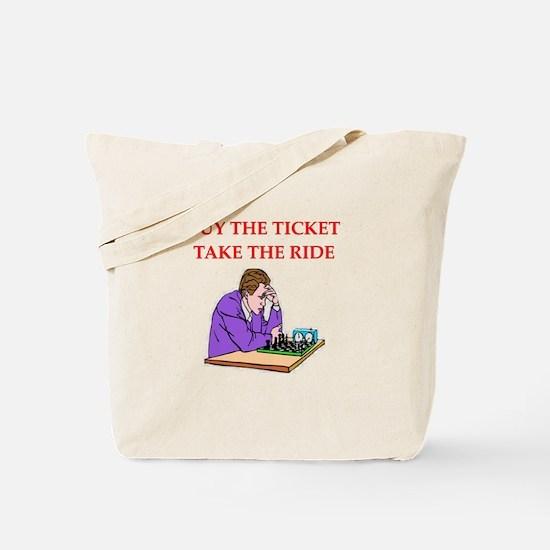 Chess joke Tote Bag