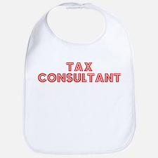 Retro Tax Consult.. (Red) Bib