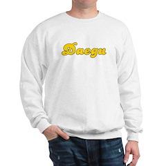 Retro Daegu (Gold) Sweatshirt