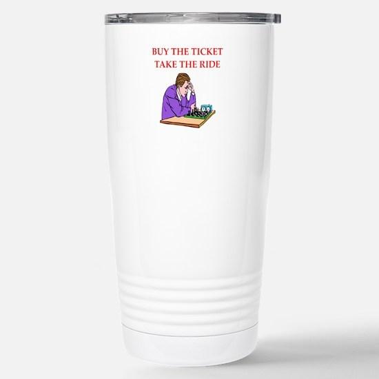 Chess joke Travel Mug