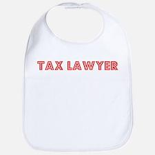 Retro Tax Lawyer (Red) Bib