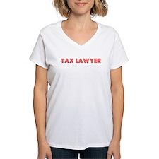 Retro Tax Lawyer (Red) Shirt