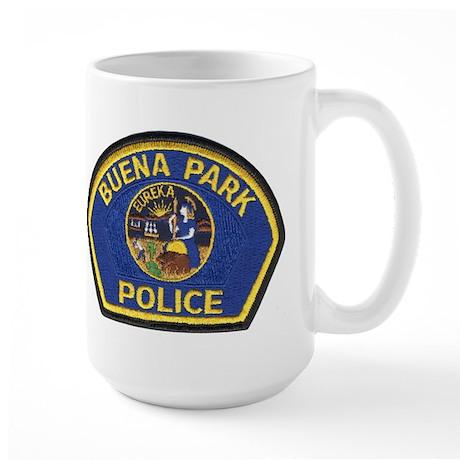 Buena Park PD Large Mug
