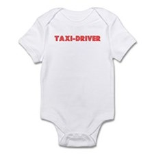 Retro Taxi-driver (Red) Infant Bodysuit