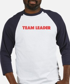 Retro Team Leader (Red) Baseball Jersey
