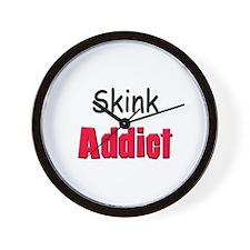Skink Addict Wall Clock