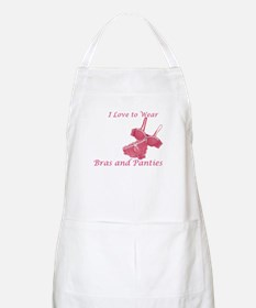 Love to Wear Bra and Panties BBQ Apron
