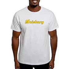 Retro Duisburg (Gold) T-Shirt