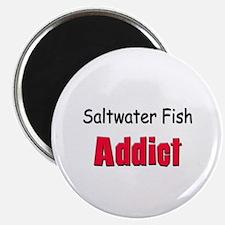 Saltwater Fish Addict Magnet