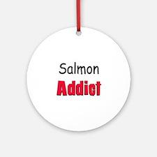 Salmon Addict Ornament (Round)