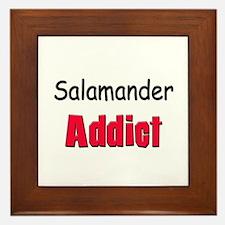 Salamander Addict Framed Tile