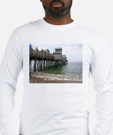 Old Orchard Beach, ME Long Sleeve T-Shirt