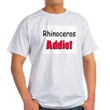 Rhinoceros Addict T-Shirt