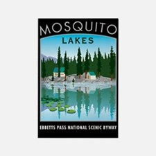Mosquito Lakes - Rectangle Magnet