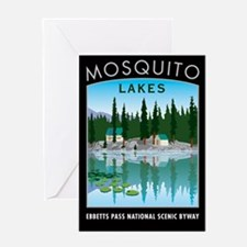 Mosquito Lakes - Greeting Card
