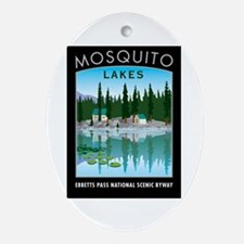 Mosquito Lakes - Oval Ornament