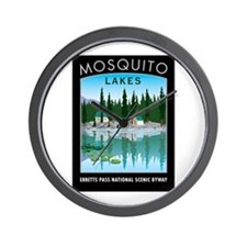 Mosquito Lakes - Wall Clock