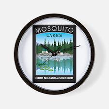 Mosquito Lakes - Wall Clock