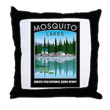 Mosquito Lakes - Throw Pillow
