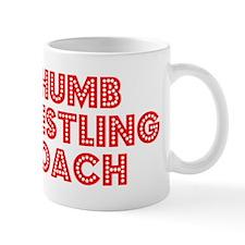 Retro Thumb Wrest.. (Red) Mug