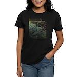 The Night Beach Women's Dark T-Shirt