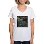 The Night Beach Women's V-Neck T-Shirt