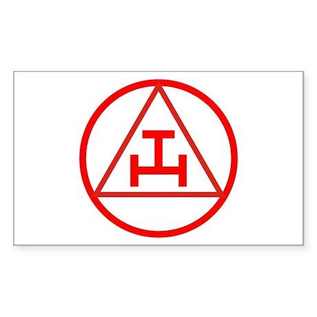 Royal Arch Mason Rectangle Sticker