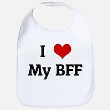 I Love My BFF Bib