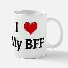 I Love My BFF Small Small Mug